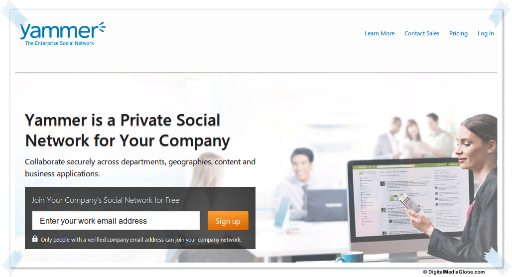 Yammer by Microsoft, Enterprise Social Media Network