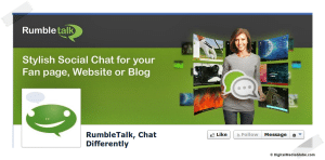 RumbleTalk  Chat Differently