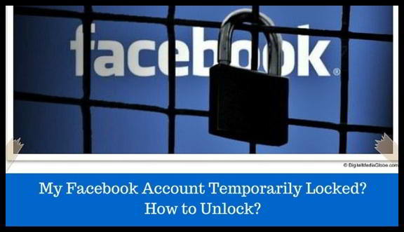 My Facebook Account Temporarily Locked