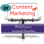 25 Content Marketing Tools for Your Personal Branding