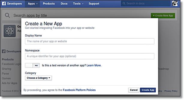 Facebook Comments - Enter Detail
