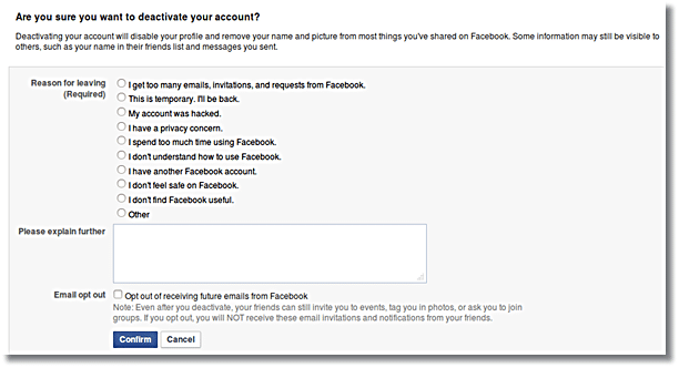 How to Deactivate Your Facebook Account Easily in Few Steps