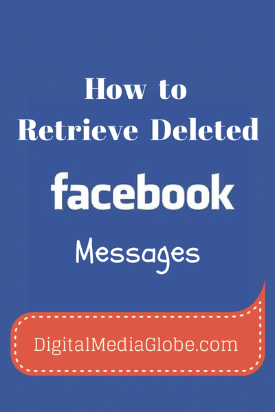 Retrieve Deleted Facebook messages - 1