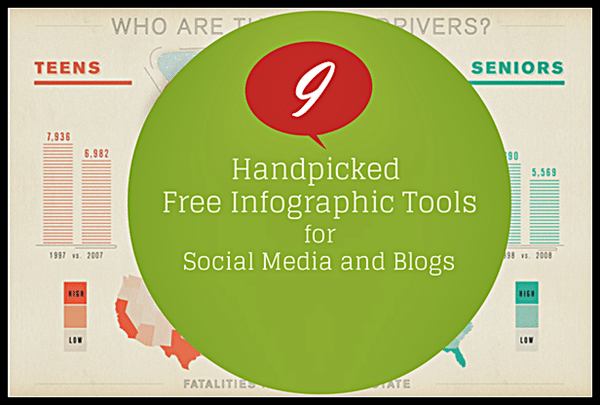 9 Handpicked Free Infographic Tools for Social Media and Blogs