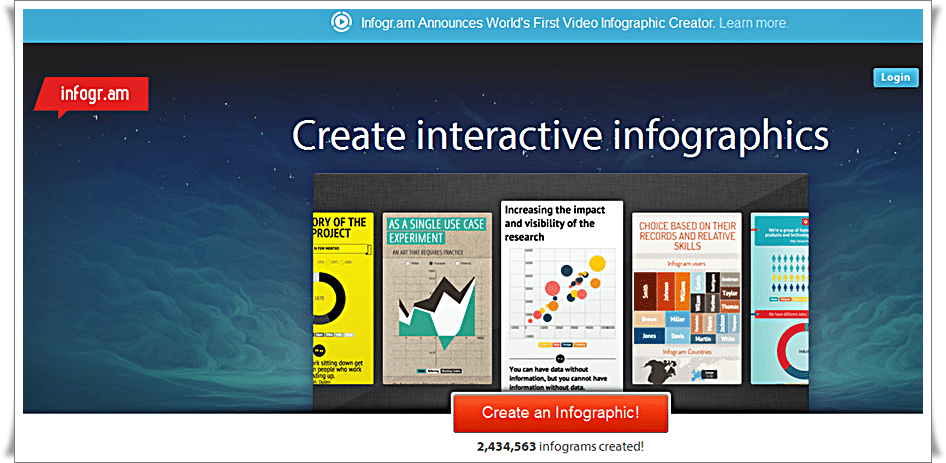 Create infographics & online charts - infogr.am - free infographic tools