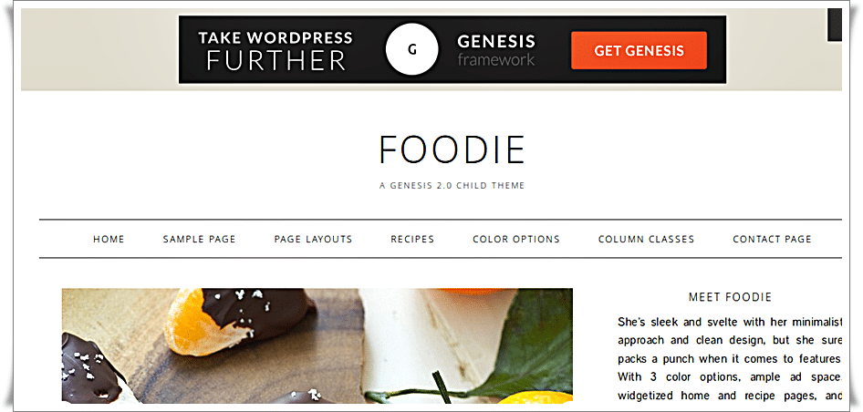 Wordpress Foodie Theme by Shay Bocks - 1