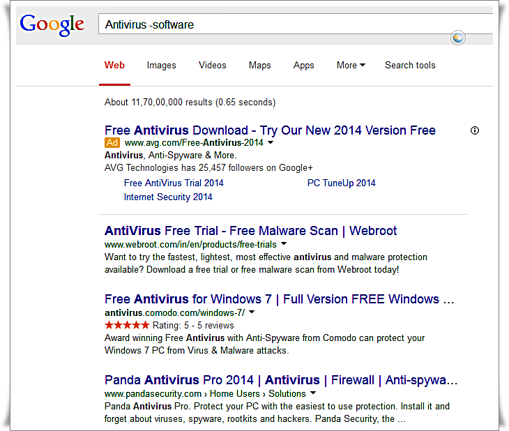 Google Search Tips - How to Search Google to Exclude Words