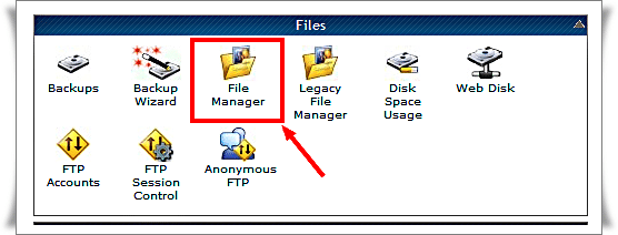HostGator.com Control Panel File Manager