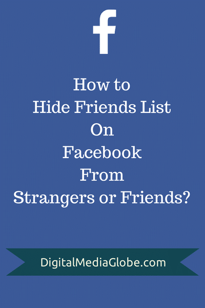 How to Hide Friends List on Facebook From Strangers or FriendsHow to Hide Friends List on Facebook From Strangers or Friends
