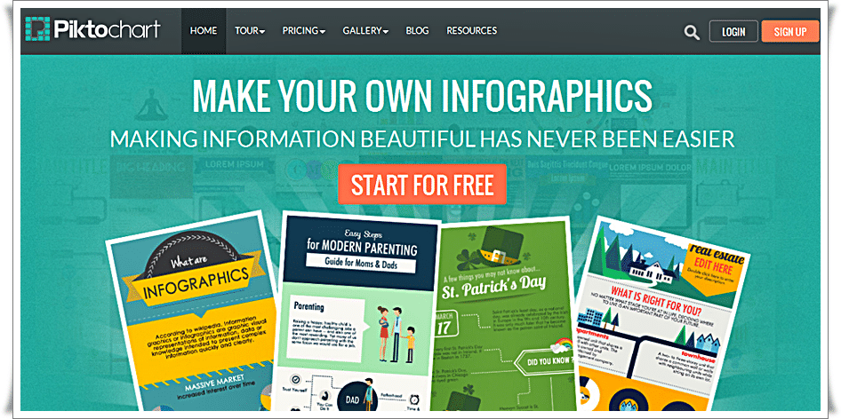Piktochart - Create Easy Infographics, Reports, Presentations