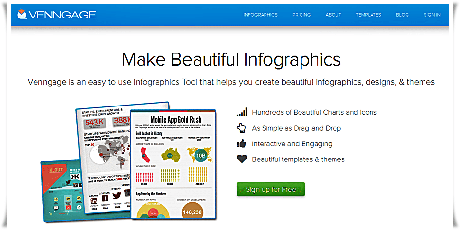 Venngage - Make Beautiful Infographics