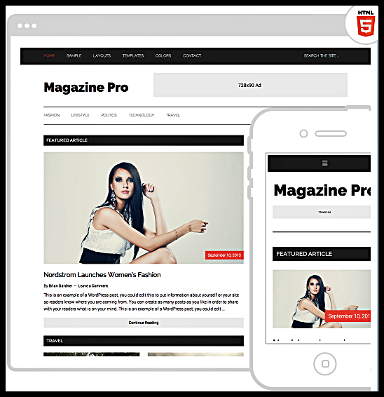 Magazine Pro Theme Best WordPress Magazine Theme