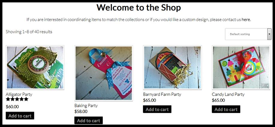 Modern Blogger Pro Theme - eCommerce Option
