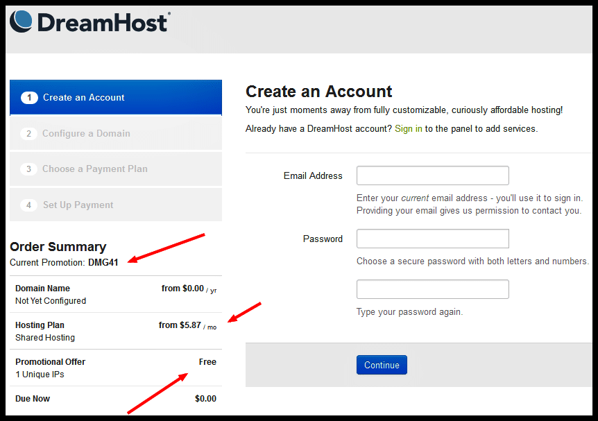 Dreamhost 41 OFF Coupon Code