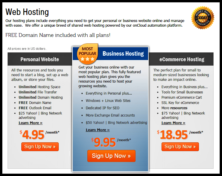 MyHosting.com Coupon Code - My Hosting Web Hosting Plan