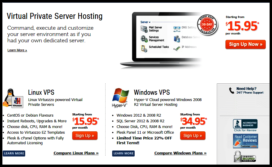 MyHosting.com Promo Code - MyHosting Virtual Private Server Hosting Plan