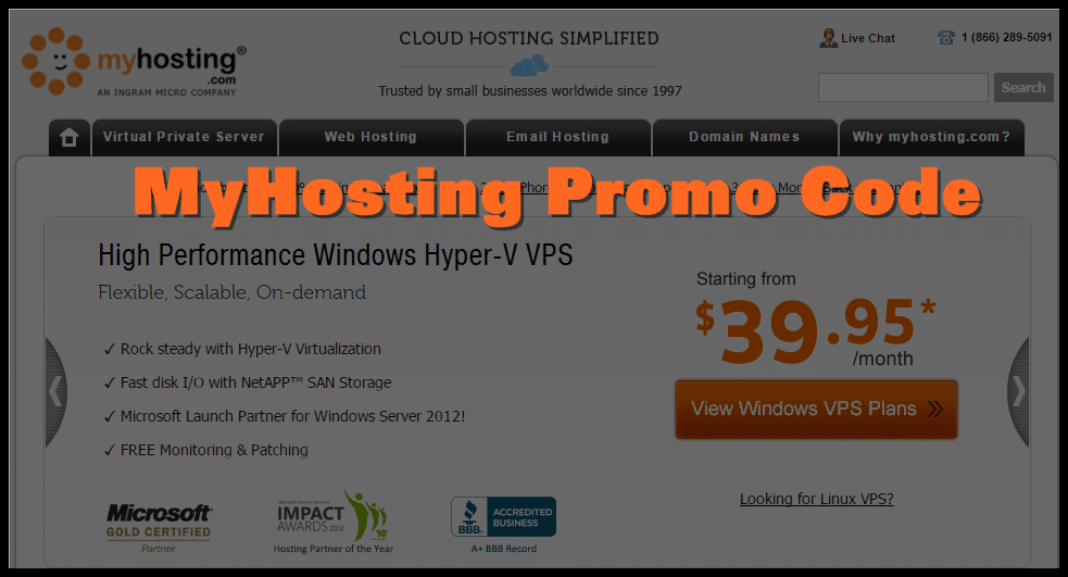 myhosting Coupon Code
