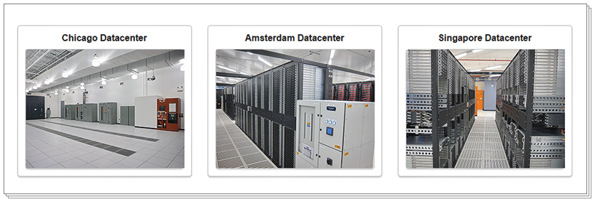 SiteGround datacenters - Server Location