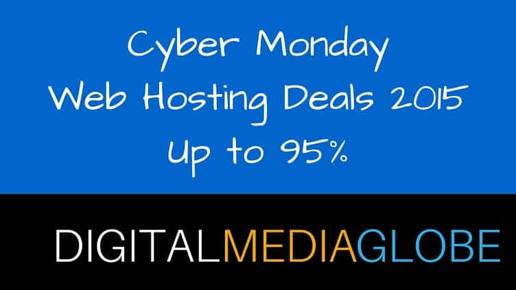 Cyber MondayWeb Hosting Deals 2015 - 1