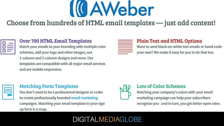 AWeber Reviews - AWeber Templates (2)