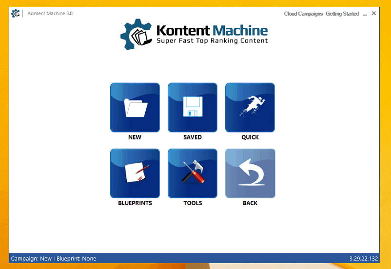 Kontent Machine - Front View