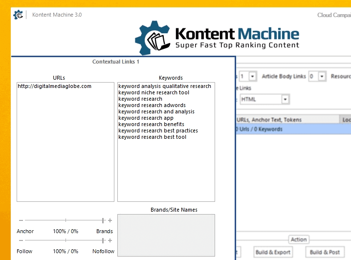 Kontent Machine Review - Step5_Contextual Link Setting