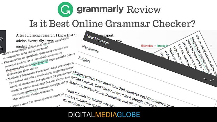 Grammarly Review - Grammar Checker Tools