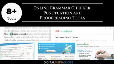 8 Best Online Grammar Checker & Punctuation Checker Tool
