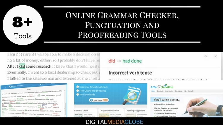 Online Grammar Checker Tools - Punctuation Check - Proofreading Tool