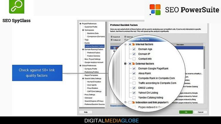 SEO Powersuite Review - SEO SpyGlass - Backlinks Checker 3 - 77