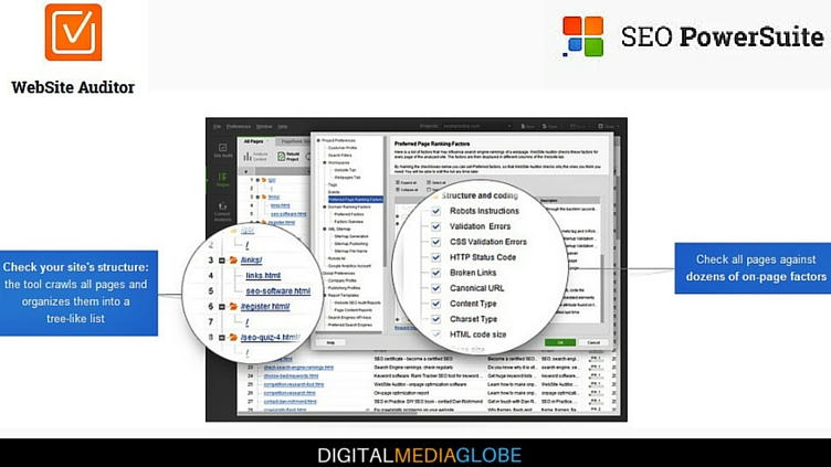 SEO Powersuite Review - Website Auditor - Site Audit Content Analysis 1 - 77