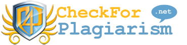 CheckforPlagiarism net