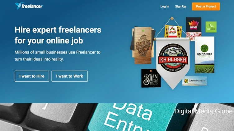 Hire Freelancers - work at home data entry jobs