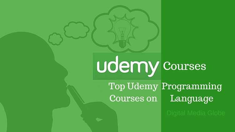 Most Popular Udemy Courses on Programming Language