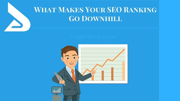 What makes your seo ranking go downhill