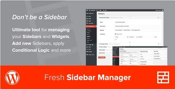 Custom Sidebar Manager by CodeCanyon