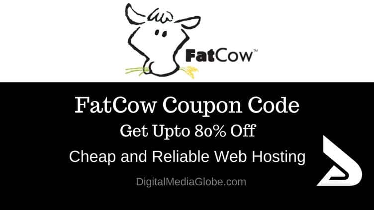 FatCow Coupon Code October 2017 : Up to 80% Off