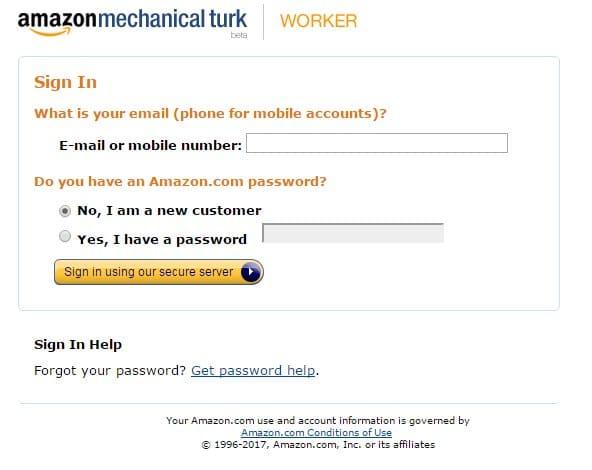 Amazon.com Sign In