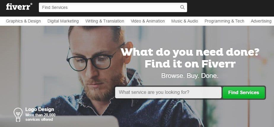 Fiverr - Best Micro Jobs Site