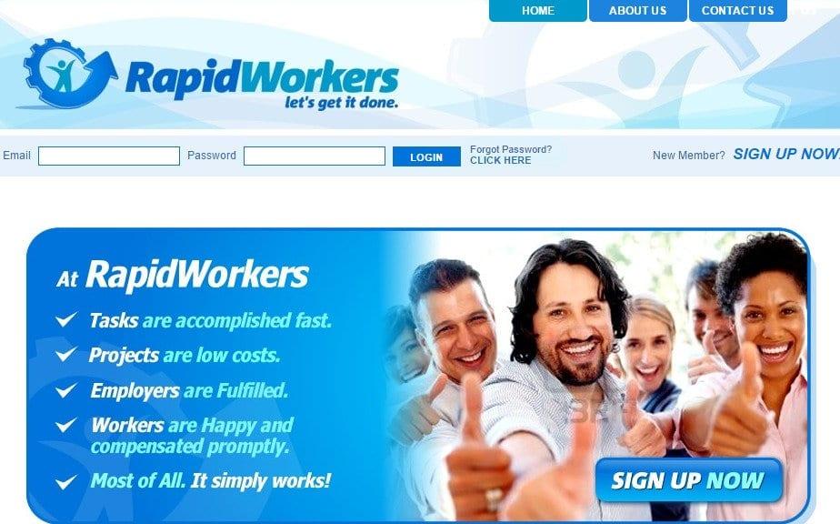 Make money online - RapidWorkers - Micro Job Site