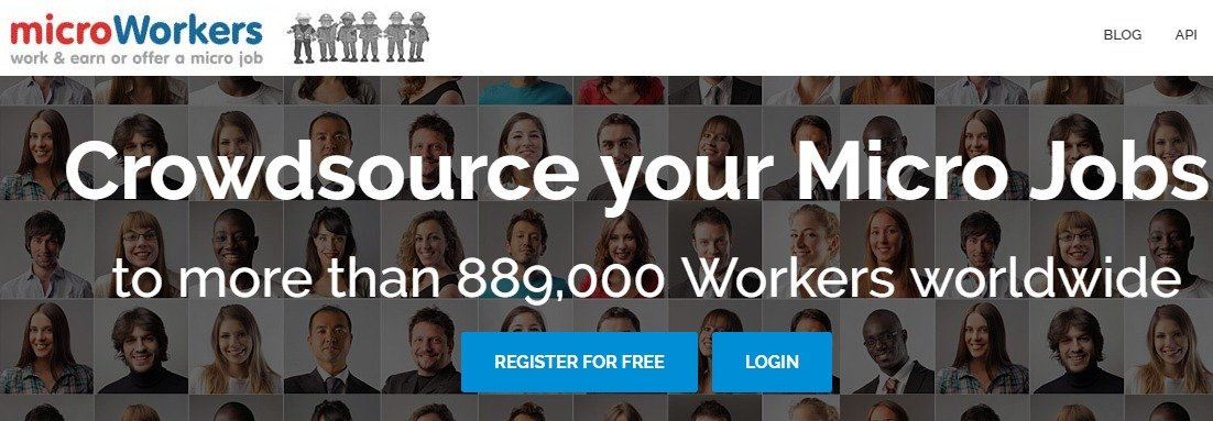 Microworkers - work earn or offer a micro job