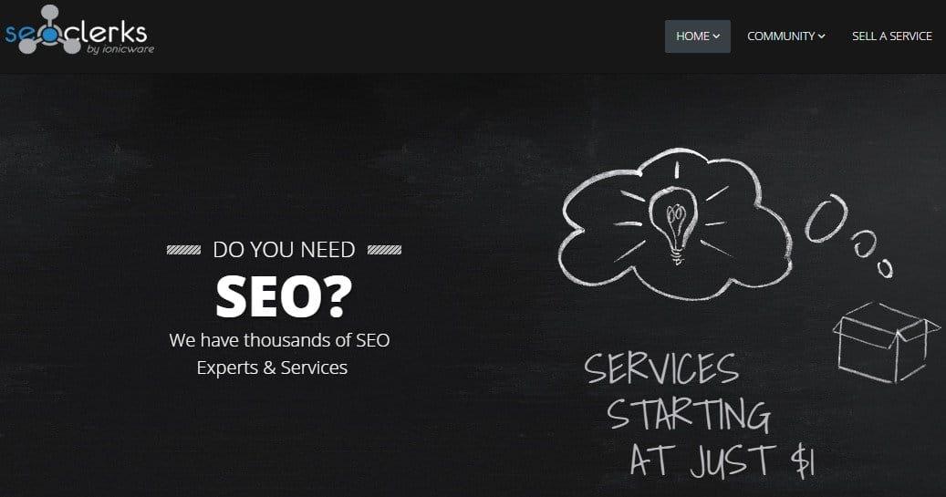 SEO Marketplace - SEOClerks - Micro Jobs Site