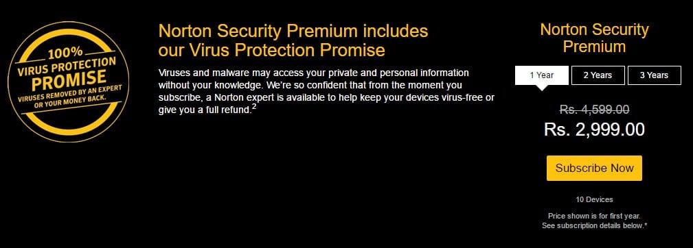 Norton Security Premium Promo Code