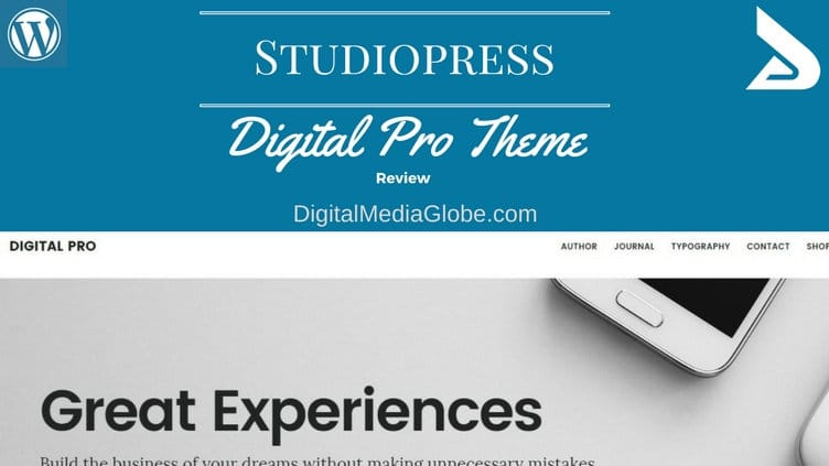 StudioPress Digital Pro Theme Review: Perfect Business Theme for Digital Product