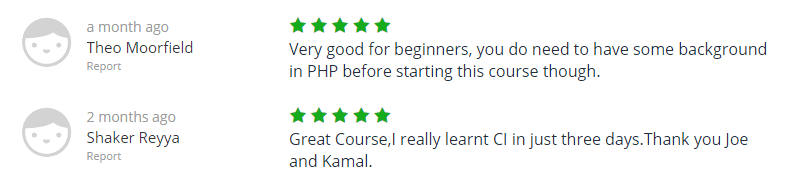 The Complete PHP CodeIgniter Course Beginner To Advanced Udemy2