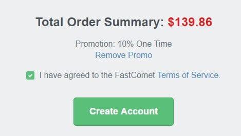 FastComet Promo Code