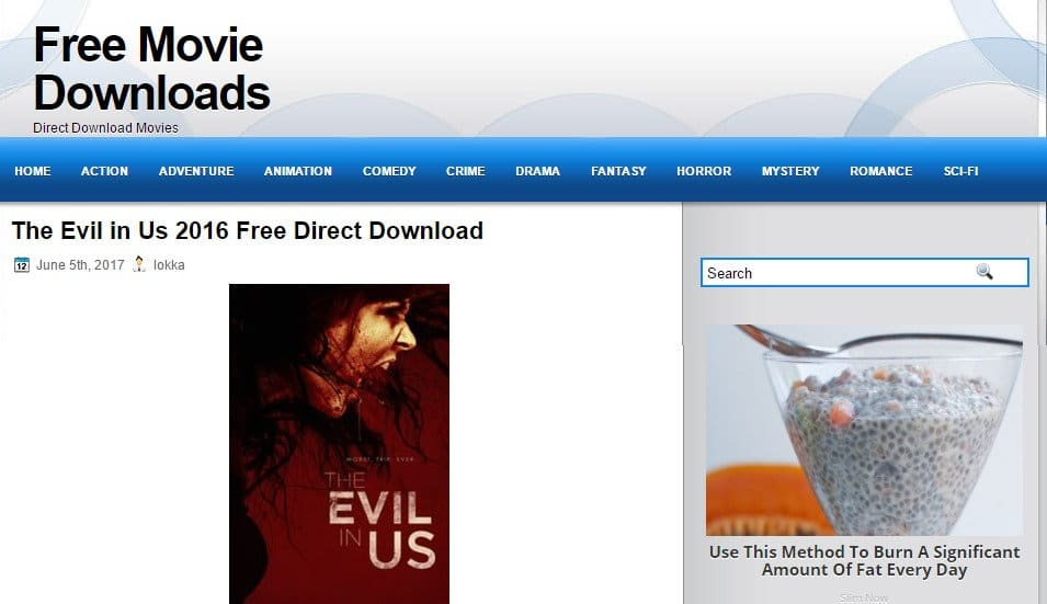 FreeMovieDownloads6 - Best site to direct download movies