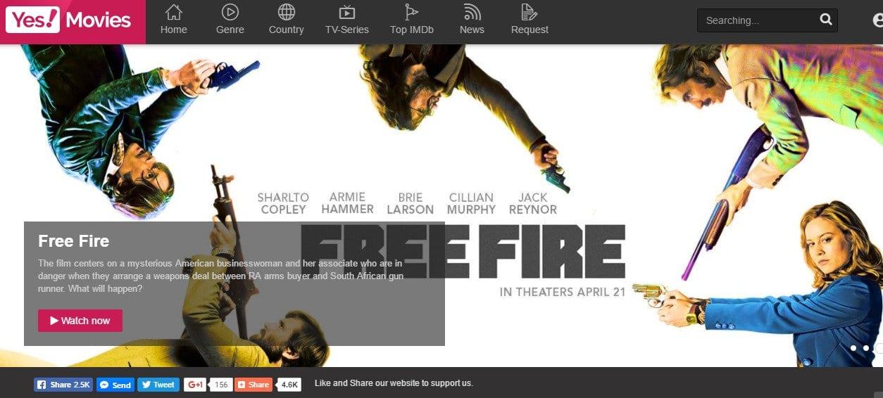 Yesmovies - Watch FREE Movies Online