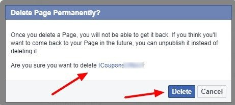 Delete Permanently - How do I Delete my Facebook Page