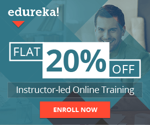 Edureka 20 percent off
